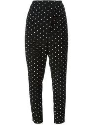 брюки с мелким крестообразным узором Givenchy