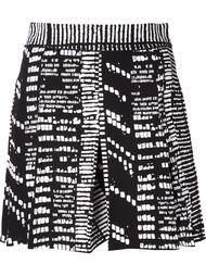 шорты с принтом Proenza Schouler