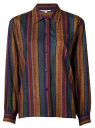 блузка в полоску  Yves Saint Laurent Vintage