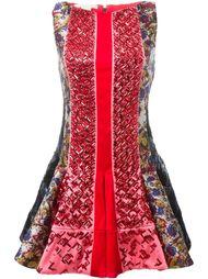 платье с декорированными панелями Antonio Berardi