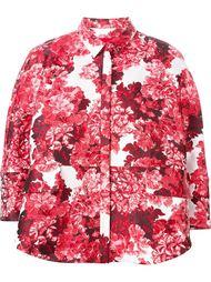 куртка с цветочным принтом Moncler Gamme Rouge