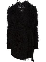 фактурное пальто-кардиган с поясом Lost & Found Ria Dunn