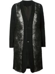 пальто с вставками из тюля Comme Des Garçons Noir Kei Ninomiya