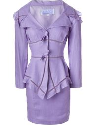 комплект из пиджака и юбки  Thierry Mugler Vintage