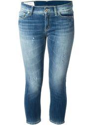 укороченные джинсы узкого кроя Dondup