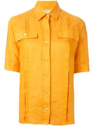 рубашка с накладными карманами  Céline Vintage