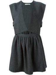 платье c V-образным вырезом  Comme Des Garçons Vintage