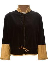 пиджак с присборенным поясом Giorgio Armani Vintage
