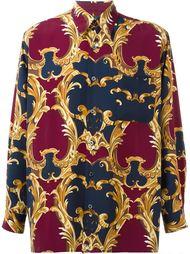 рубашка с принтом Барокко  Jean Paul Gaultier Vintage