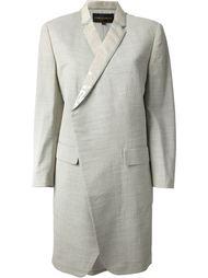 лёгкое пальто с отделкой из ПВХ Comme Des Garçons Vintage