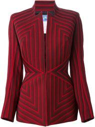 полосатый пиджак Thierry Mugler Vintage