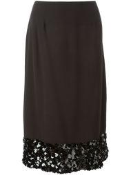 декорированная  юбка  Chanel Vintage