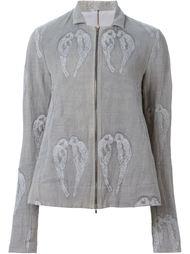 пиджак с вышивкой птиц Alice Waese