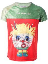футболка с принтом 'Tie Me Up' Walter Van Beirendonck Vintage