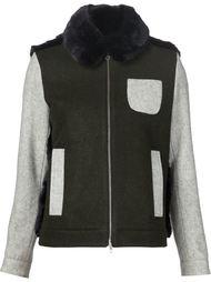 куртка с панелью из искусственного меха Arthur Arbesser