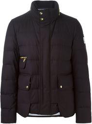стеганая куртка с накладными карманами Moncler Gamme Bleu