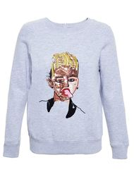 Sequinned Popstar Sweatshirt Ashish