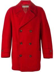 двубортное пальто Issey Miyake Vintage