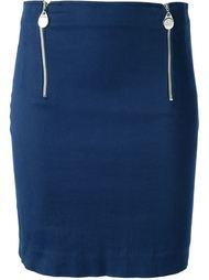 короткая юбка с молниями Jean Paul Gaultier Vintage