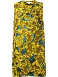 жаккардовое платье с растительным узором Antonio Berardi