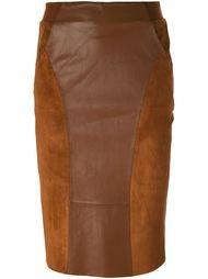 юбка карандаш 'Dia' с панельным дизайном Dagmar