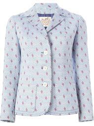 пиджак с вышивкой Н Hermès Vintage