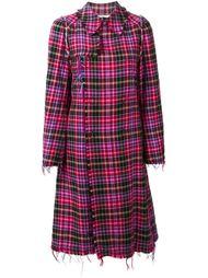 пальто в клетку Comme Des Garçons Vintage