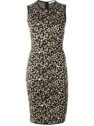 платье-свитер с узором в технике интарсия Givenchy