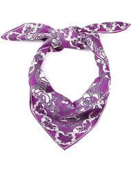 шарф с принтом роз Emilio Pucci Vintage