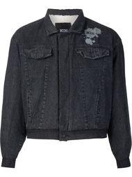 джинсовая куртка мешковатого кроя KTZ