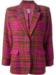 пиджак в шотландку 'Jungle Kenzo'  Kenzo Vintage