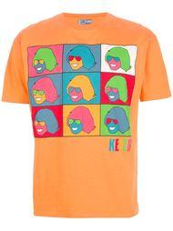 футболка с рисунком поп арт Kenzo Vintage