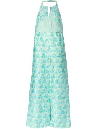 вечернее платье с открытой спиной Courrèges Vintage