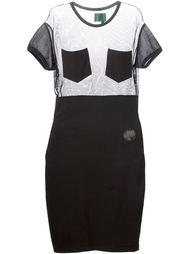 платье с сетчатым верхом 'JUNIOR GAULTIER' Jean Paul Gaultier Vintage