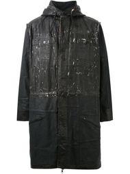пальто с капюшоном  Longjourney