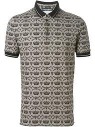 футболка-поло с принтом Dolce & Gabbana