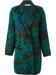 вязаное пальто  Jean Louis Scherrer Vintage
