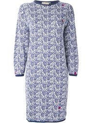 трикотажное платье Krizia Vintage