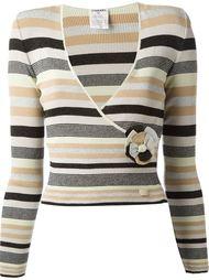 свитер в полоску Chanel Vintage