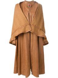 удлиненное многослойное пальто Roberta  Di Camerino Vintage