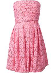 платье без бретелек Moschino Cheap & Chic