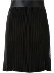плиссированная юбка с принтом Thomas Tait