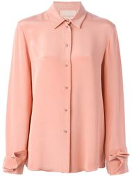 рубашка с оборками на манжетах  Roksanda