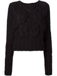 трикотажный свитер крупной вязки Barbara I Gongini