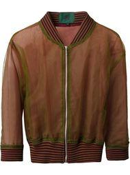 двухслойная прозрачная куртка  Jean Paul Gaultier Vintage