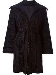 меховое пальто Fendi Vintage