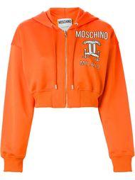 свитер с капюшоном  Moschino