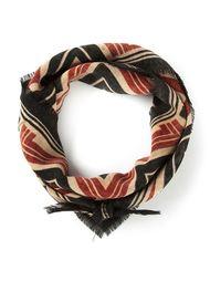 шарф с зигзагообразным рисунком Biba Vintage