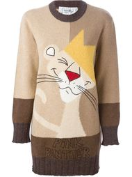 трикотажное платье 'Pnk Panther'  Jc De Castelbajac Vintage