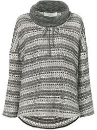 полосатый свитер свободного кроя Thakoon Addition